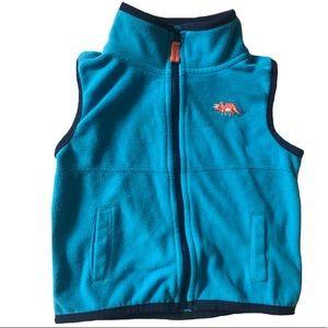 Zip-Up Fleece Vest 24 Months